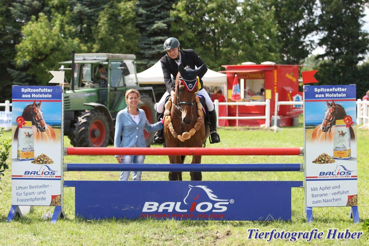 aside image Balios Hunter Cup Ahrensfelde: Newcomer vorn 1