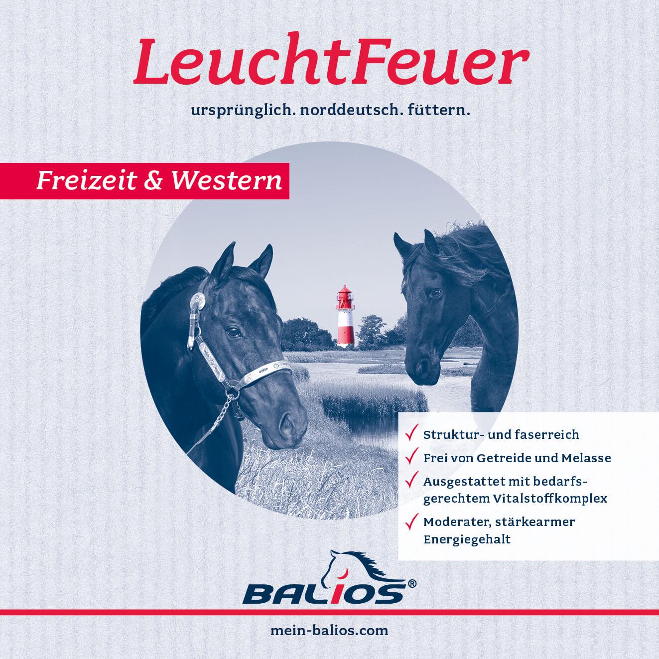 aside image Balios LeuchtFeuer Freizeit & Western