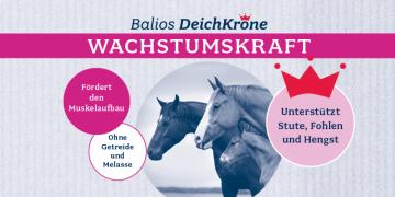 Neues Produkt: BALIOS Deichkrone Wachstumskraft